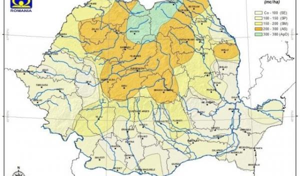 Rezerva de umiditate - Romania