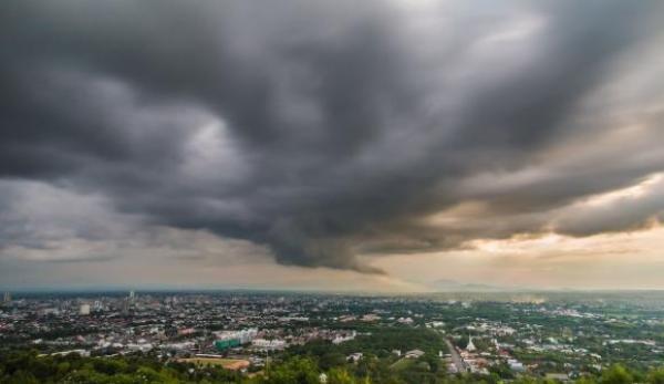 Informarea meteo de ploi si furtuni