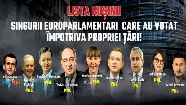 lista rusinii