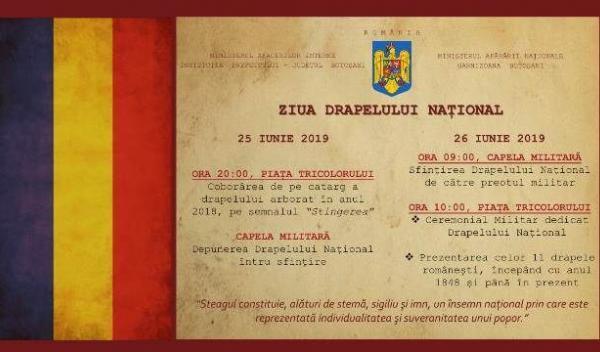 Invitatie Ziua Drapelului