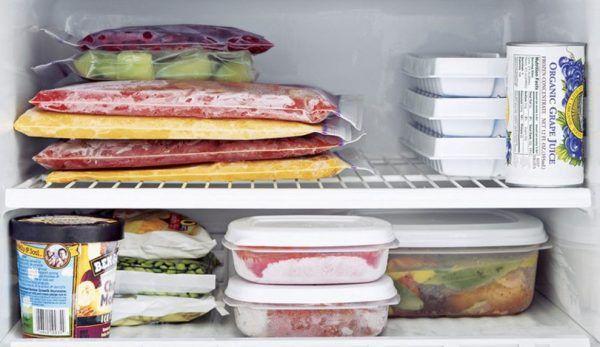 alimente congelator