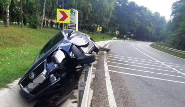 ACCIDENT pe drumul Botosani – Suceava