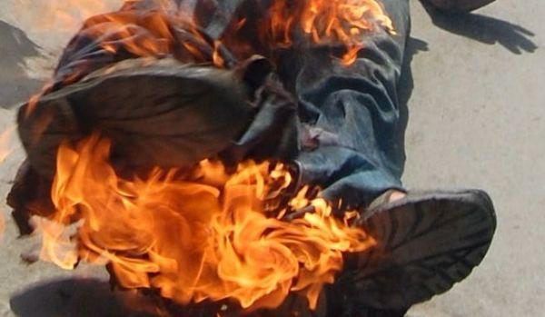 decedat incendiu