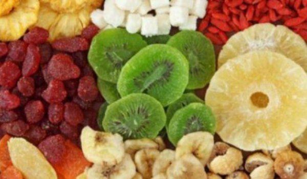 fructele confiate
