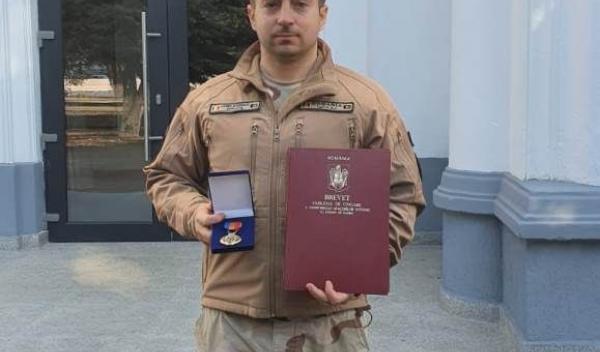 Jandarm recompensat de U.S. Army_1