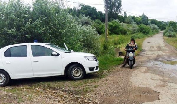 Depistat conducând un motoscuter, deși nu avea acest drept2