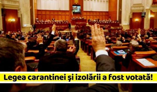 Legea-carantinei-şi-izolării-a-fost-votată