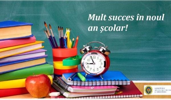 succes in noul an scolar