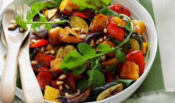 legume la cuptor şi rucola