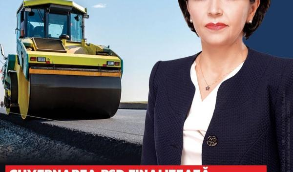 macheta infrastructura drumuri