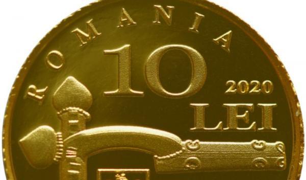 moneda 10 lei