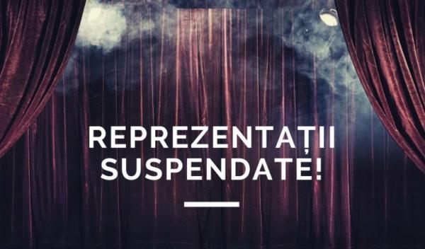 teatru suspendat