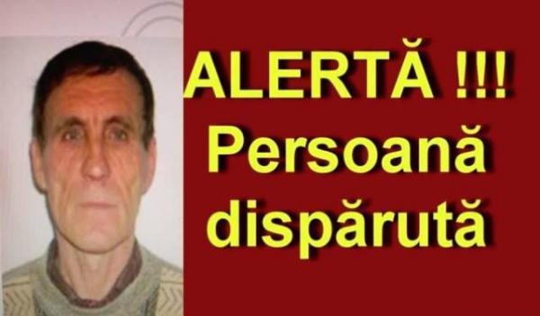 alerta persoana disparuta