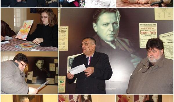 Muzeul George Enescu - Cenaclul Editor 01