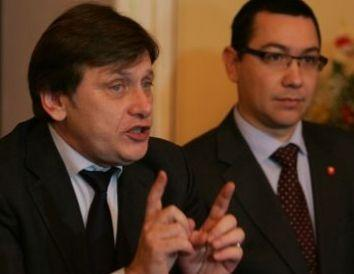 Liderul PNL Crin Antonescu