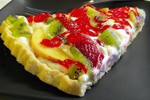 Tartă cu fructe