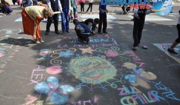 Desene pe asfalt