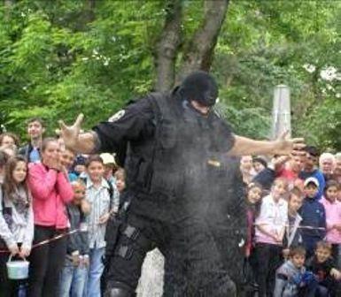 Demonstratie politisti_1
