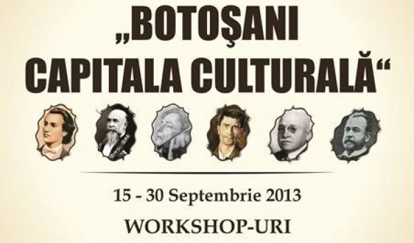 Botosani Capitala Culturala
