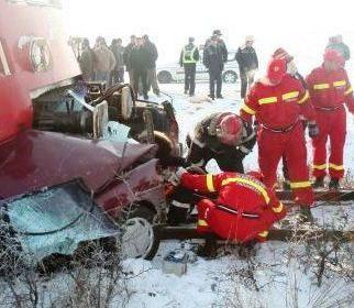 accident feroviar Mascateni