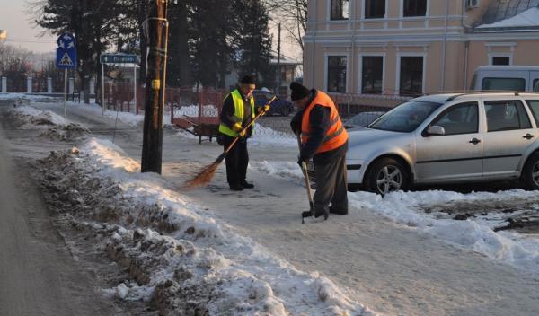 Curatare trotuare