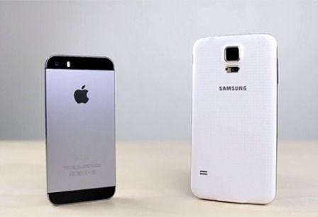 Apple-iPhone-5S-Galaxy-S5