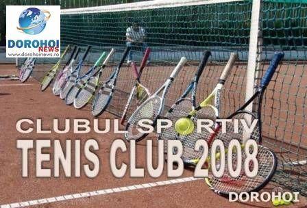 """nscrieri pentru Turneul """"Tenis 10 FRT"""", organizat la Dorohoi de C.S. TENIS CLUB 2008"""
