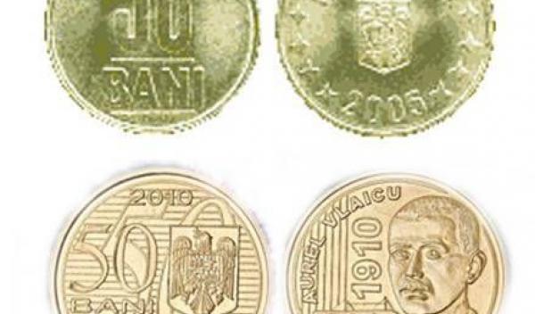 moneda 50 bani