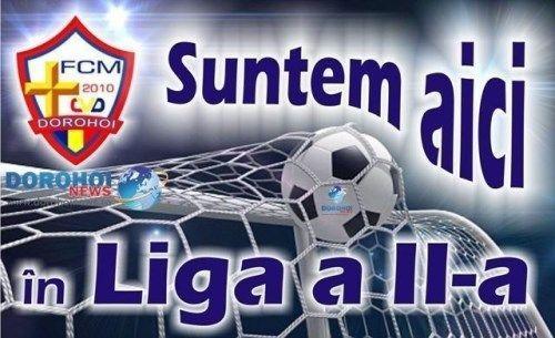 FCM Dorohoi in Liga a II-a