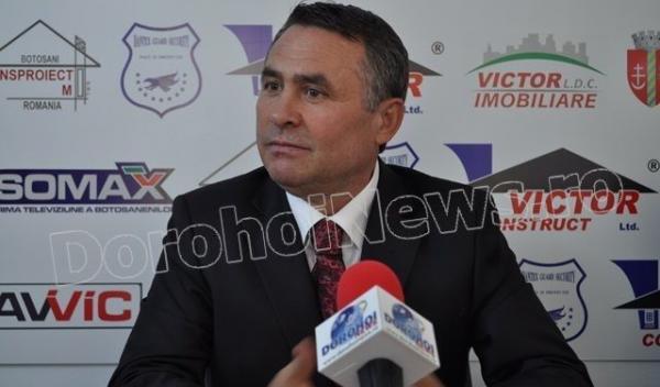 Victor Mihalachi, finantator FCM Dorohoi