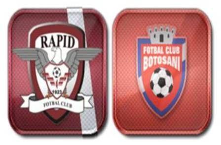 Rapid-Bucureşti-FC-Botoşani