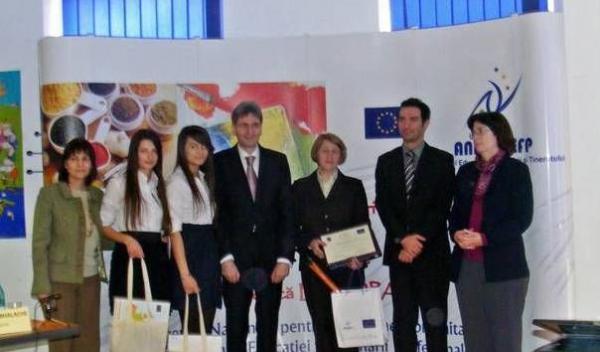 "Colegiul ""Mihai Eminescu"" Botoşani Premiul III"