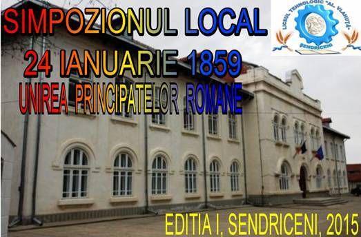 Simpozion Local - 24 ianuarie 1989 - Liceul Al. Vlahuta Sendriceni