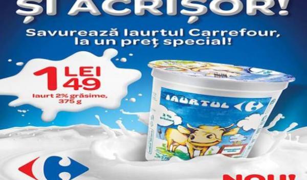 Carrefour iaurt