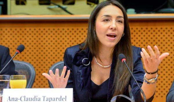 Eurodeputata Claudia Țapardel