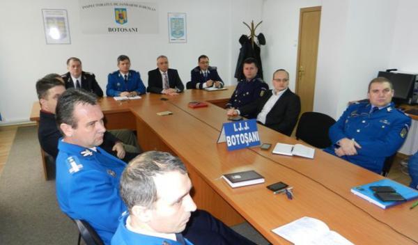 Evaluarea activităţii Jandarmeriei Române în anul 2014