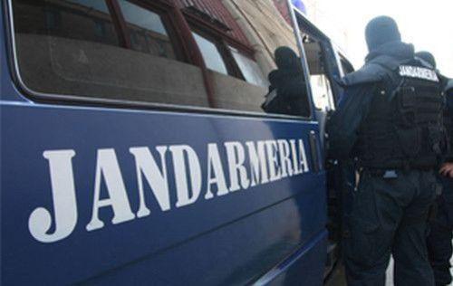 Jandarmi în actiune