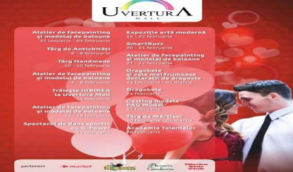 n acest week-end la Uvertura Mall