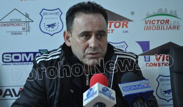 Viorel Ion, antrenor Gloria Buzau (FCM Dorohoi - Gloria Buzau)
