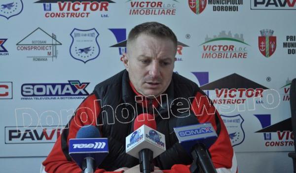Vespazian Colban, antrenor FCM Dorohoi (FCM Dorohoi - Gloria Buzau)