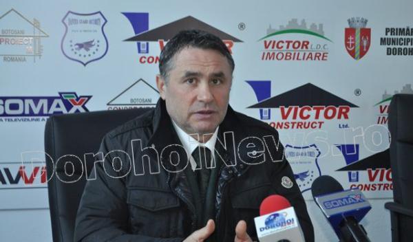 Victor Mihalachi, finantator FCM Dorohoi (FCM Dorohoi - Gloria Buzau)