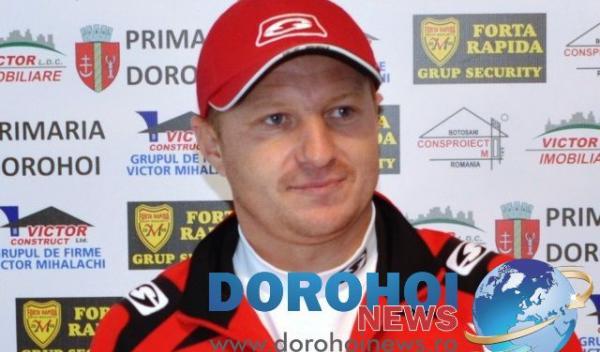 Verspazian Colban - antrenor principal FCM Dorohoi