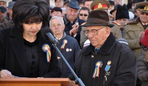 Senatorul Doina Federovici Anul 2015 - Anul Veteranilor de Război