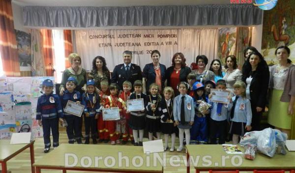"""Castigatorii concursului """"Micii Pompieri"""" - Dorohoi_01"""