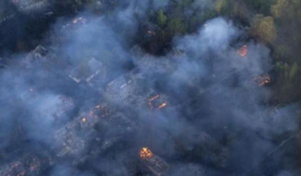 incendiu Cernobal